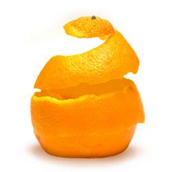 The orange peel moment